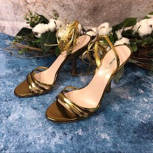 Miu Miu strappy heeled sandals Sz 36.5
